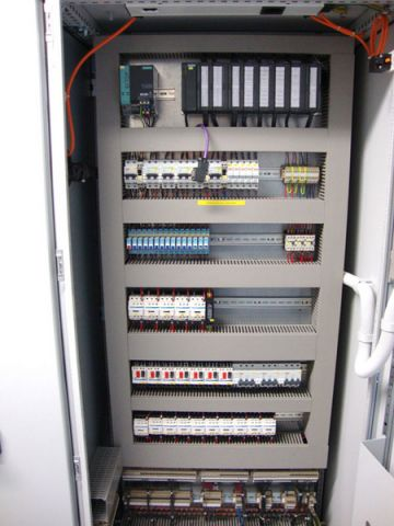 Electrical Cabinet, PCA Control